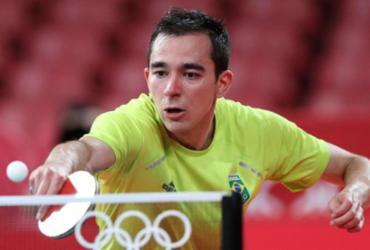 Tênis de mesa: Hugo Calderano mira em medalha em Paris | Wander Roberto | COB