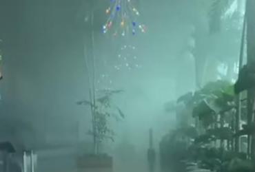 Princípio de incêndio atinge restaurante em espaço gourmet do Salvador Shopping | Reprodução | Redes Sociais