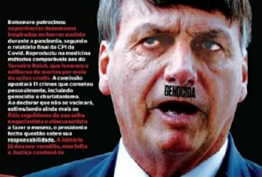 Ministro da Justiça pede que PF investigue revista IstoÉ por capa com crítica a Bolsonaro | Reprodução