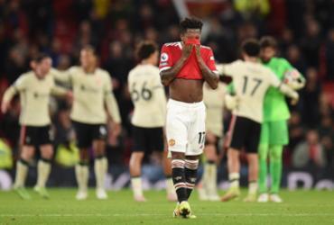 Liverpool aplica 5 a 0 no Manchester United em Old Trafford | Oli Scarff | AFP