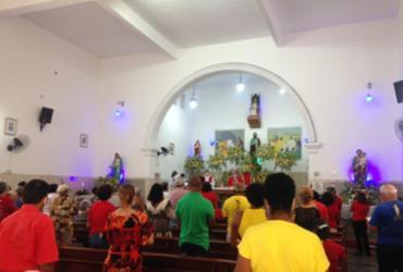 Missa em homenagem a São Judas Tadeu em Baixa de quinta |