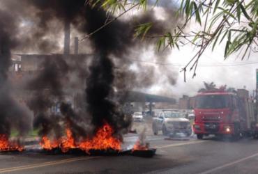 Protesto na Estrada do Derba |