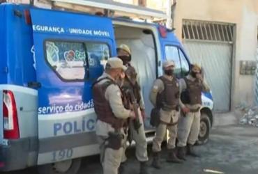 Dezenas de homens armados disparam tiros em Periperi; policiamento é reforçado | Reprodução | TV Bahia