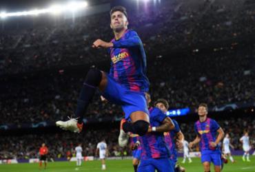 Barcelona bate Dínamo de Kiev e conquista primeira vitória na Liga dos Campeões | AFP