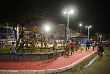 Prefeitura inaugura praça com parque infantil e academia em Mata Escura | Betto Jr | Secom-PMS