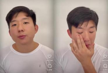 Pyong Lee volta às redes sociais, chora e pede perdão a Sammy; video | Reprodução/ Instagram