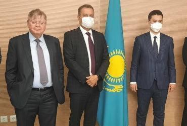Rui Costa se reúne com ministros e agência de investimentos no Cazaquistão | Daniel Senna | GOV BA