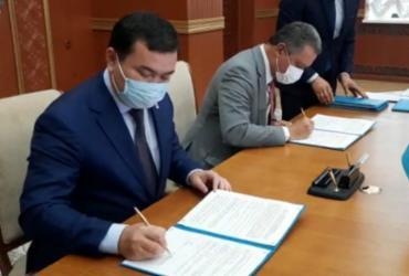 Rui Costa assina acordo de parceria comercial e científica no Cazaquistão | ASCOM/GOVBA