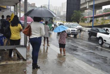 Codesal registra 34 notificações devido a chuva forte em Salvador | Shirley Stolze | Ag. A TARDE