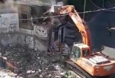 Demolição de imóveis causa transtorno a moradores do Tororó | Reprodução | Redes Sociais