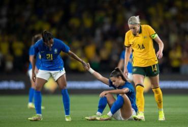 Seleção Brasileira feminina é dominada e perde amistoso contra Austrália | Thais Magalhães | CBF
