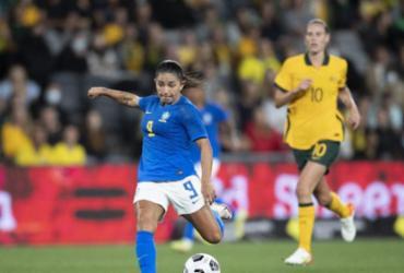 Seleção feminina arranca empate em 2 a 2 com Austrália em 2º amistoso |