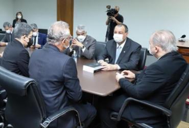Senadores entregam relatório final da CPI a Aras e Moraes | Ag. Senado