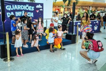 Polícia Civil e shoppings lançam campanha 'Guardiões da Infância' | Felipe Iruatã | Ag. A TARDE | 25.10.2021