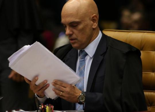 Alexandre de Moraes será relator da ação de Bolsonaro contra a CPI | Fábio Rodrigues Pozzebom I Agência Brasil
