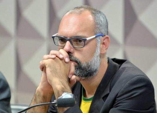 Alexandre de Moraes determina prisão e extradição de Allan dos Santos   Alessandro Dantas/Ag. Senado