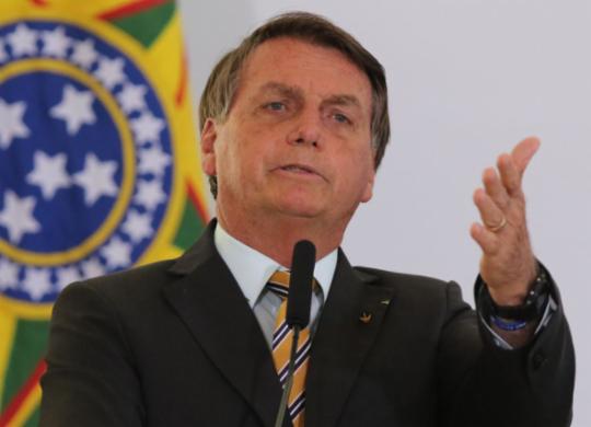 """Bolsonaro diz que não vai pagar precatórios e reclama: """"Querem me tirar daqui""""   Fábio Rodrigues Pozzebom I Agência Brasil"""