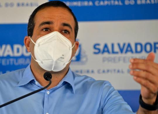 Bruno Reis afirma que Réveillon e Carnaval em Salvador estão 'totalmente planejados'   Shirle Stolze   Ag. A TARDE