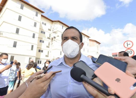 Bruno Reis reitera parceria do governo Bolsonaro com Salvador | Shirley Stolze | Ag. A TARDE
