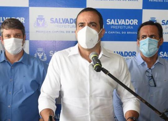 Bruno Reis defende decisão conjunta com o Estado sobre realização do Carnaval   Betto Jr./Secom
