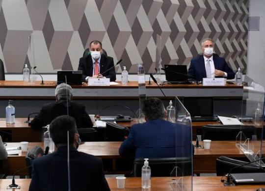 Relatório da CPI da Covid pede indiciamento de 72 pessoas | Jefferson Rudy/Ag. Senado