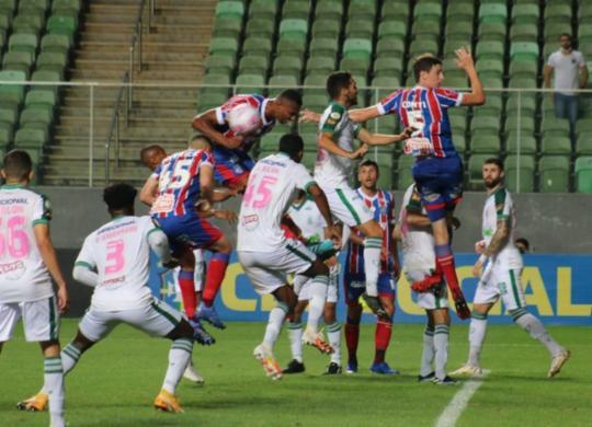 Bahia empata com o América-MG e deixa o Z4 | Felipe Santana | EC Bahia