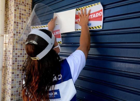Força-tarefa apreende 41 equipamentos de som e interdita 4 estabelecimentos em Salvador | Jefferson Pexoto/ Secom