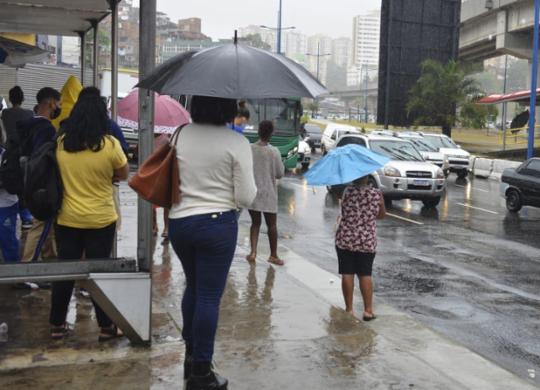 Codesal registra 34 notificações devido a chuva forte em Salvador   Shirley Stolze   Ag. A TARDE