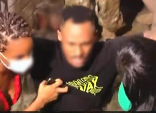 Bandido se entrega e sequestro no Engenho Velho de Brotas chega ao fim | Reprodução / Tv Band Bahia
