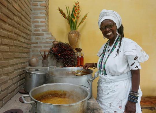 Projeto 'Culinária de Terreiro' promove vivências gastronômicas e espirituais | Olga Leiria | Ag. A TARDE