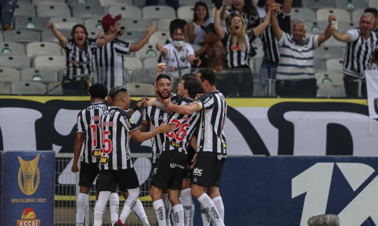Galo supera Peixe por 3 a 1 no estádio do Mineirão   Foto: Pedro Souza   Agência Galo   Atlético-MG - Foto: Pedro Souza   Agência Galo   Atlético-MG