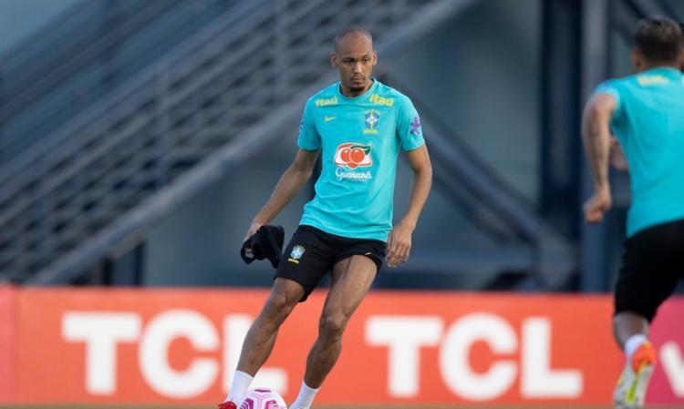 Volante joga nesta quinta-feira em duelo contra Uruguai, em Manaus   Foto: Lucas Figueiredo   CBF - Foto: Lucas Figueiredo   CBF
