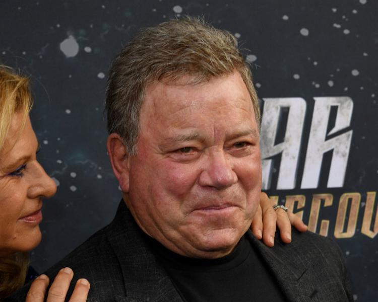 Aos 90 anos, Shatner será a pessoa mais velha a ir ao espaço | Foto: MARK RALSTON | AFP - Foto: MARK RALSTON | AFP