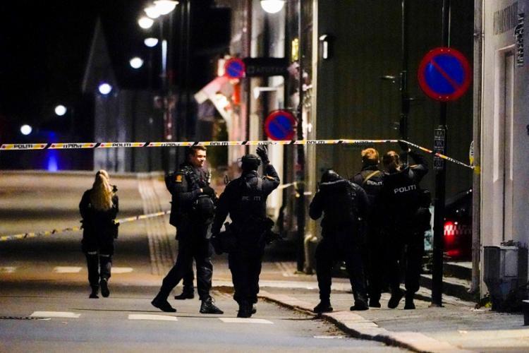 As motivações do ataque, que ocorreu em vários locais do centro da cidade de Kongsberg, ainda são desconhecidas | Foto: AFP - Foto: AFP