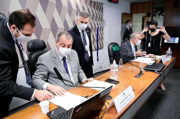 O presidente da Comissão, senador Omar Aziz, diz que a CPI