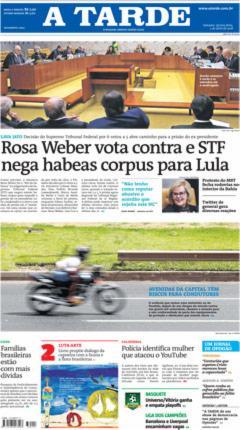 Quinta, 05/04/2018