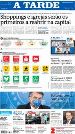 capa do jornal